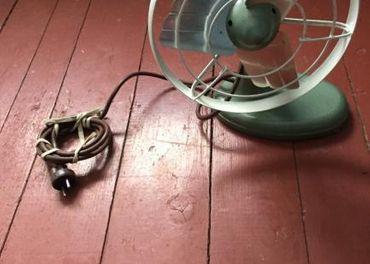 Ventilátor.