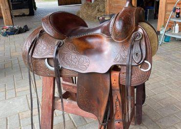 Westernové sedlo Bobs Duane Latimer
