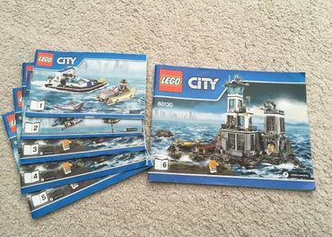 Lego 60130 Väzenie na ostrove