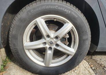 Zimny komplet ALU 5x112 Audi Skoda VW Seat + pneu 205/60 R16
