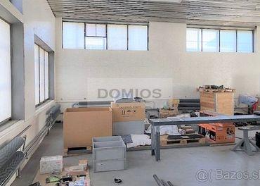 Výrob.-sklad. hala (200 m2, príz, vjazd, parking, KE-St.m.)