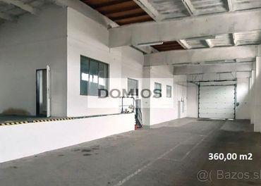 2 výrobno-skladové haly (360/238 m2, rampa, parking, KE-Juh)