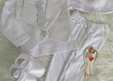 Oblečenie na krst pre chlapca veľ.62