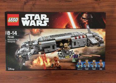 LEGO STAR WARS 75140 - Vojenský transport Odporu