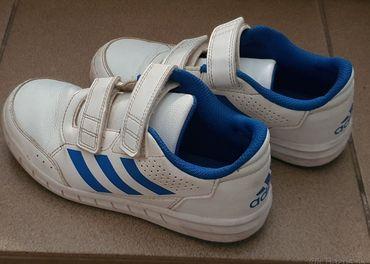 Bielo-modré Adidas tenisky