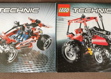 LEGO TECHNIC Bugina/Traktor 8048
