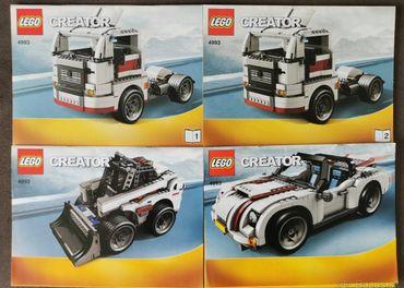 LEGO Creator Kabriolet/Ťahač/Nakladač 4993