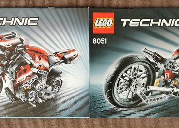 LEGO TECHNIC Motorka 8051