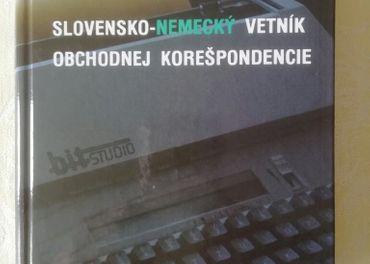 Slovensko-nemecky vetník obchodnej korešpondencie