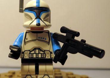 Lego minifigurky Clone Trooper Lieutenant sw0629