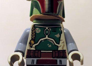 Lego minifigurka Boba fett