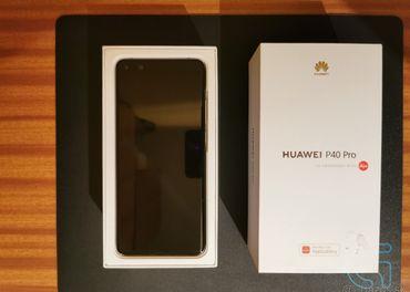 Predám Huawei P40 Pro Silver Frost - REZERVOVANÉ