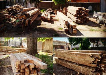 Staré drevo, trámy a dosky