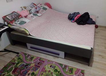 Predam takmer novu postel s uloznym priestorom 90x 200cm
