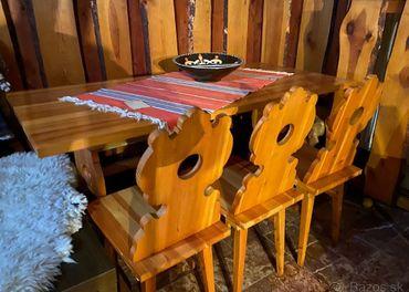 Drevený nábytok-handmade