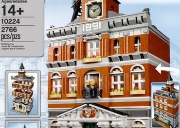Lego Exclusive 10224 Town Hal