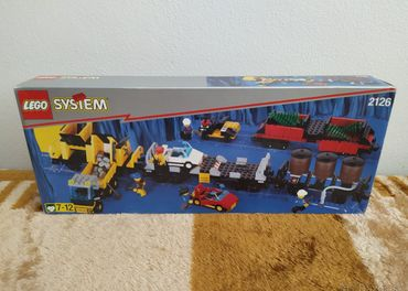LEGO SET 2126 - Train: Train Cars / 1997