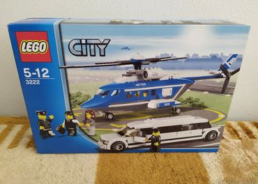 LEGO SET 3222 - City: Helicopter and Limousine / 2010