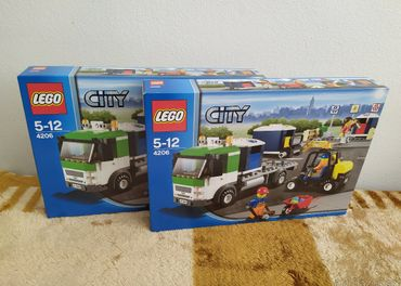LEGO SET 4206 - City: Recycling Truck / 2012