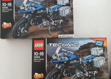 LEGO Technic 42063 BMW R 1200 GS