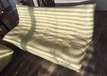 Kožená sedačka 3+2