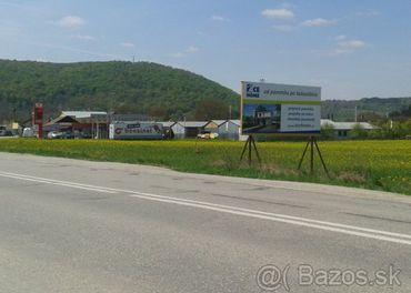 reklamná plocha - billboard - Trenčianske Bohuslavice