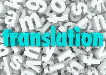 Anglický jazyk - kvalitné profesionálne preklady na faktúru