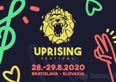 40€ Permanentka na UPRISING 2020