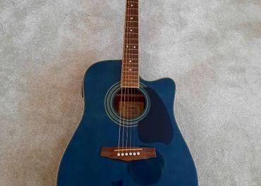 Predám elektro-akustickú gitaru Ibanez PF60SCE-TBL 27 01