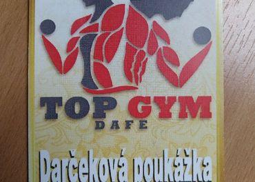 Top Gym Dafe Topoľčany (mesačná permanentka)