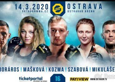 Octagon Ostrava 14.3. 2020