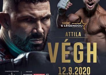 Noc s legendou - Attila Vegh, 12.9., Brno