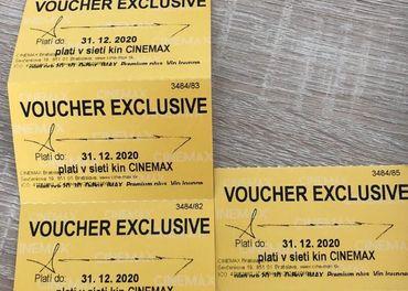 CINEMAX exclusive voucher