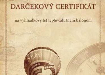 Súkromný let balónom pre 4 osoby