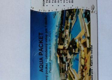 Aquacity Poprad platné do 31. 05.