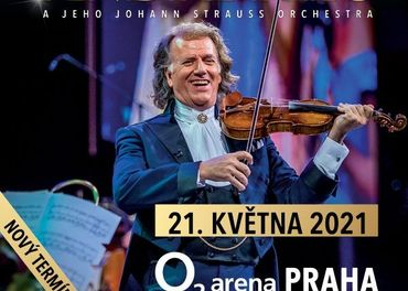 André Rieu in Prague 2021