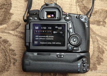 Battery gripy pre Canon EOS 7D a Nikon D5000