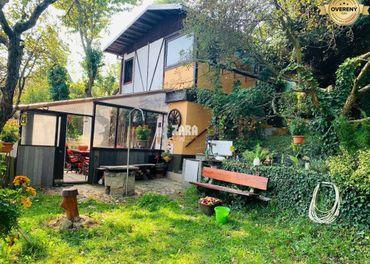Záhrada 464 m²,murovaná chatka Košické Olšany - časť Girady