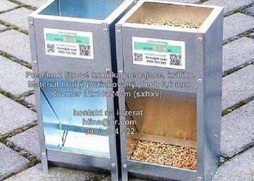 Krmitko,  kraliky, zajace  2_litrove  4,5 € (pozri video)