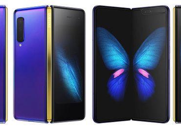 Samsung Galaxy Fold 5G modrý