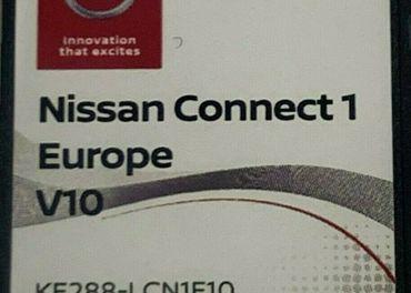 Mapy SD karta Nissan connect 1 - Europa v10 2020