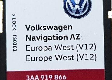 Mapy SD Karta RNS315 Amundsen+ EAST V12 2020 a WEST V12 2020