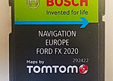 Mapy SD Karta Ford FX Europe 2020