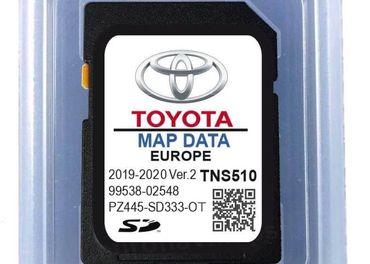 Mapy SD karta Toyota TNS510 2019-20 ver.2
