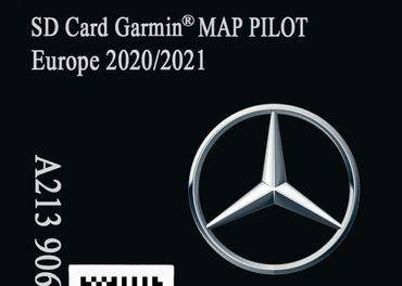 Mapy SD Karta Mercedes Garmin Map Pilot 2020-21 (V15)