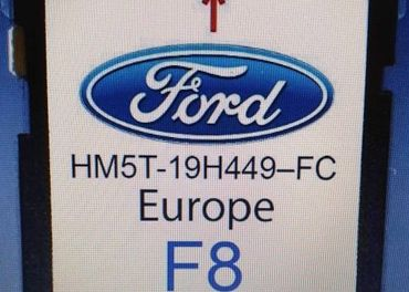 Mapy FORD NAVIGATION SD CARD SYNC2 F8 MAP EUROPE 2019