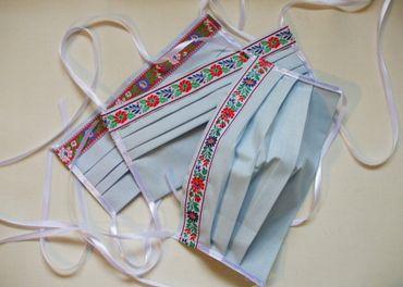 Textilné ochranné rúška pre opakované použitie