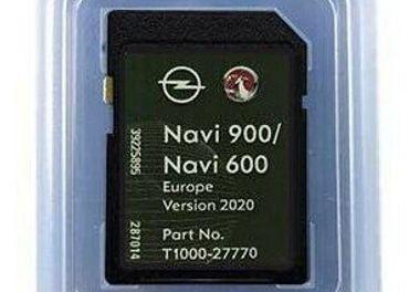 mapy SD karta Opel NAVI600 / NAVI 900 SD Card Europe 2020