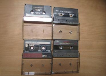 Predám tieto kvalitné audiokazety spolu 4ks