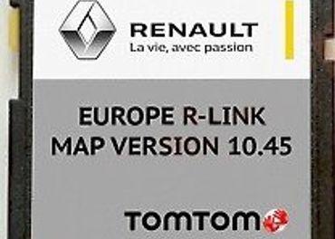Mapy SD karta Renault R-Link TOM-TOM Europa 2020